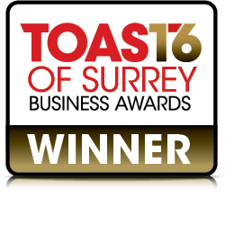 Toast of Surrey Award
